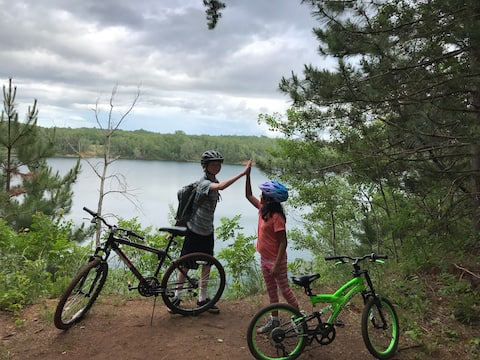 Cuyuna Lake Cabin. Bike trails, SUPs and Serenity