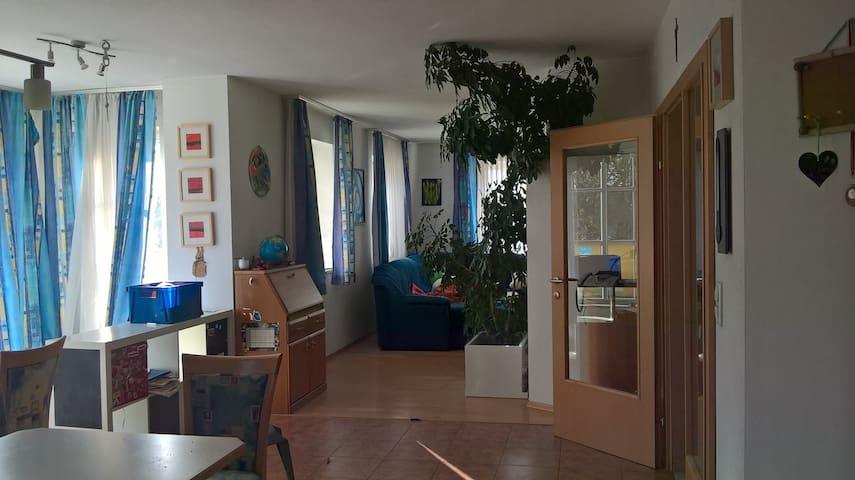 Das Wohnzimmer...