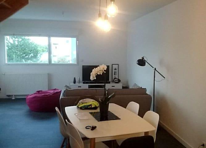 Appartement contemporain- le rheu