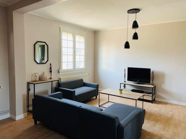 Appartement spacieux et moderne