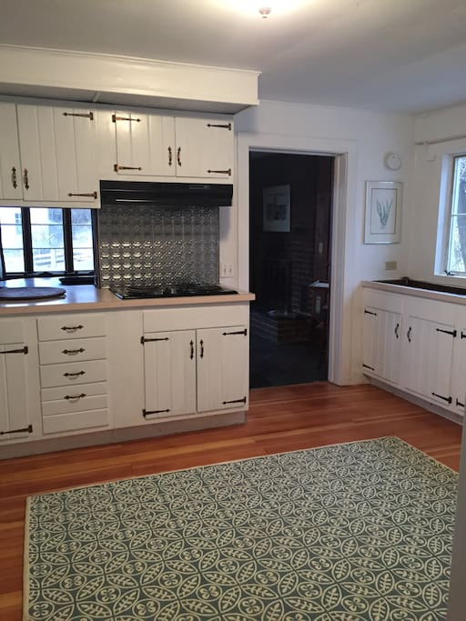 Well-equipped, spacious kitchen