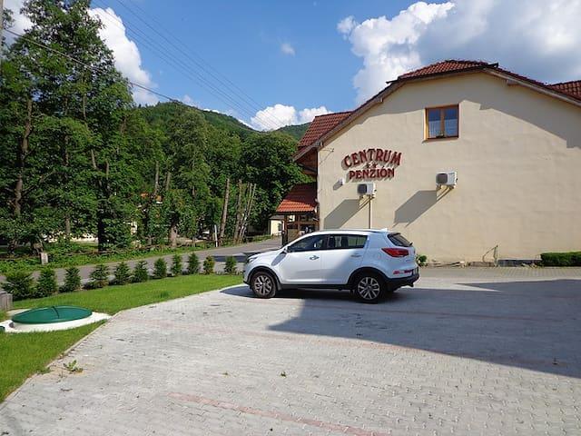 Sklené Teplice, Banská Štiavnica - Sklené Teplice - ที่พักพร้อมอาหารเช้า
