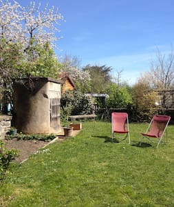 Charmante maison de famille et son jardin au calme