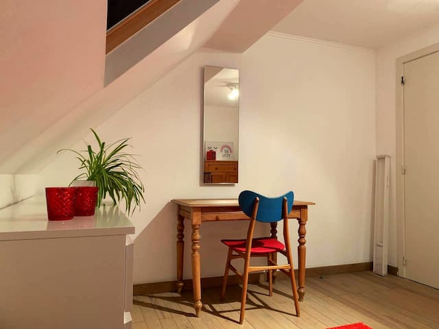 Private room in cosy home - quiet dead-end street