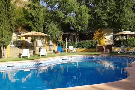 House with private pool and garden - Palenciana - Hus