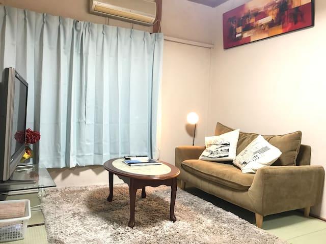 Guest House Seraui,Near Omiya St.Free Poket wifi !