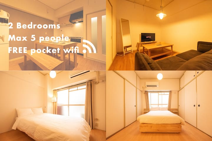 NEW! Middle of centre 3min walk from Shijo sta#203