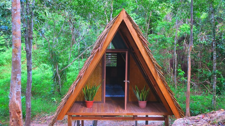 Tentstar Eco Resort - Nipa Hut in Port Barton