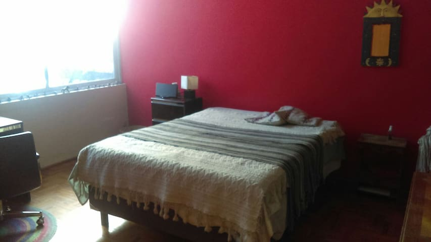 Beautiful Spacious Room near UNAM and Coyoacan - Ciudad de México - Casa