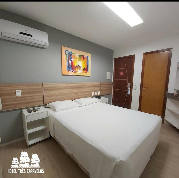 Suíte no Hotel Três Caravelas 3