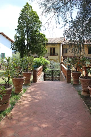 The garden house of Chianti - Mercatale In Val di Pesa - Lejlighed
