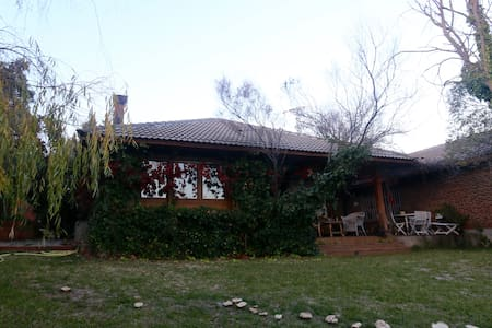 Habitación en casa de campo - San Agustin de guadalix  - Chatka w górach
