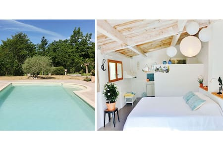B&B LES OLIVIERS swimming pool+brunch Provence