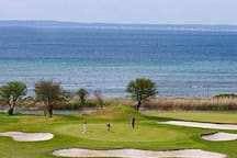 Our golf course, RYA, is located very close our home and is one of Sweden's most beautiful golf courses. Here You can play 18 holes with a great sea view!