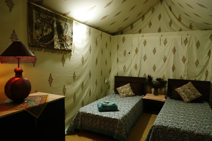 "Aura Homestay ""Tent Room ""in Jaipur"