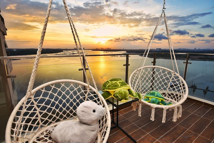 ⭐Ultimate Sunset & Seaview!⭐NestHome Beach Suite
