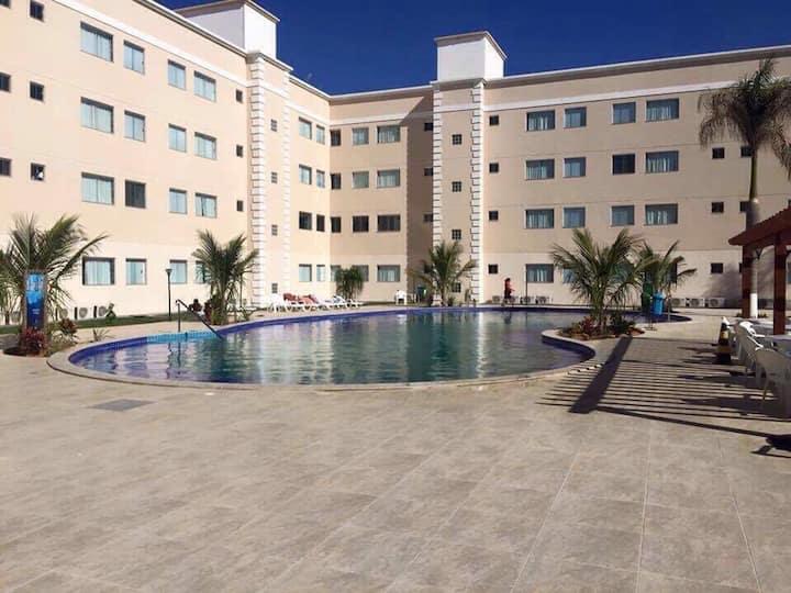 Apartamento no Encontro das Águas Thermas Resort