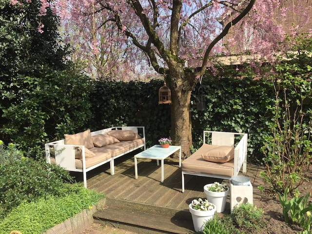 Heerlijk huis met tuin in Wageningen - Wageningen - House