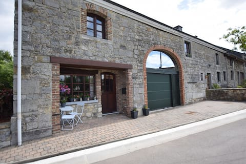 Appealing Holiday Home in Durbuy Ardennes with Terrace, BBQ