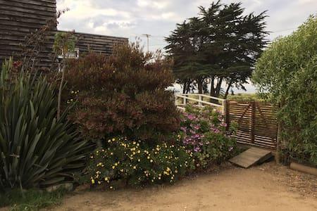 Linda cabaña con vista al mar - Pichilemu