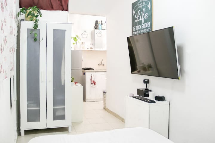 Cozy Center Min From The Beach Studio Apartment - Tel Aviv-Yafo - Appartamento