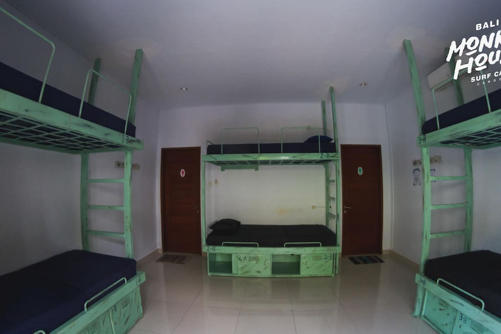 Dorm room - Bali Monkey House, Canggu