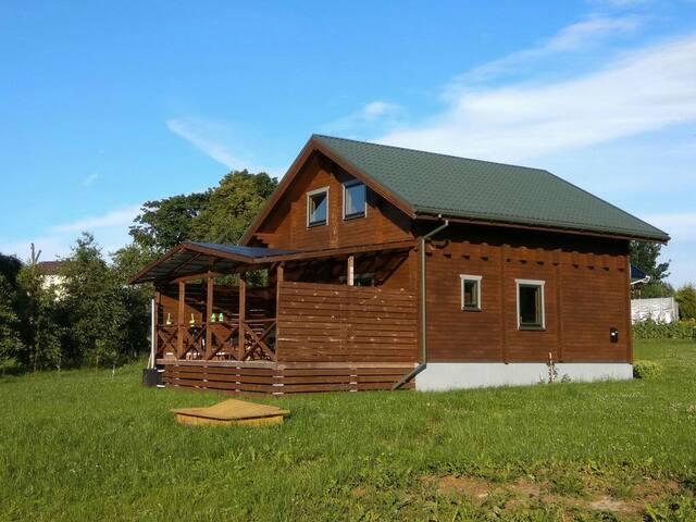 Cozzy country house near Vilnius - Motiejiškės - House