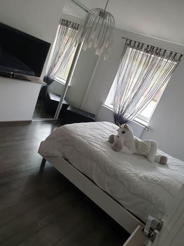 Maison complète/1 ou 2 chambres privée et plus