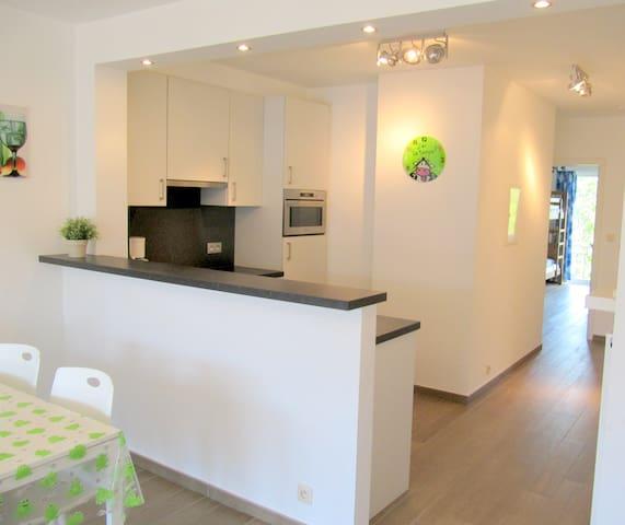 Leuk modern vakantie appartement Oostduinkerke bad - Koksijde - Apartment