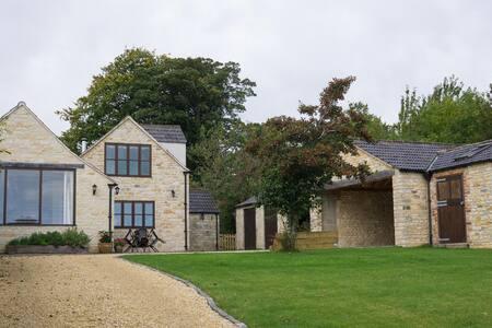 Spacious farmhouse with stunning views