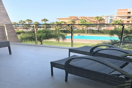 #2-DELUX SEA VIEW APARTMENT - BIOKO COMPLEX- POOL - Orihuela - Leilighet