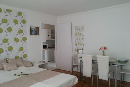 fully equipped double room with A/C, WiFi - Budapeste