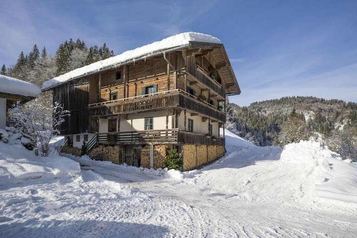 Modern Farmhouse in Hopfgarten im Brixental near Ski Area