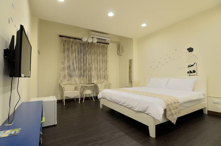 溫馨2人房 遇見幸福地民宿、東港大鵬灣