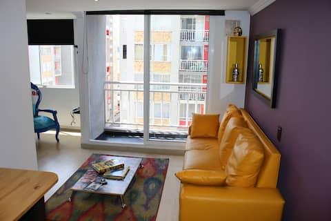 Moderno apartamento en Bogota