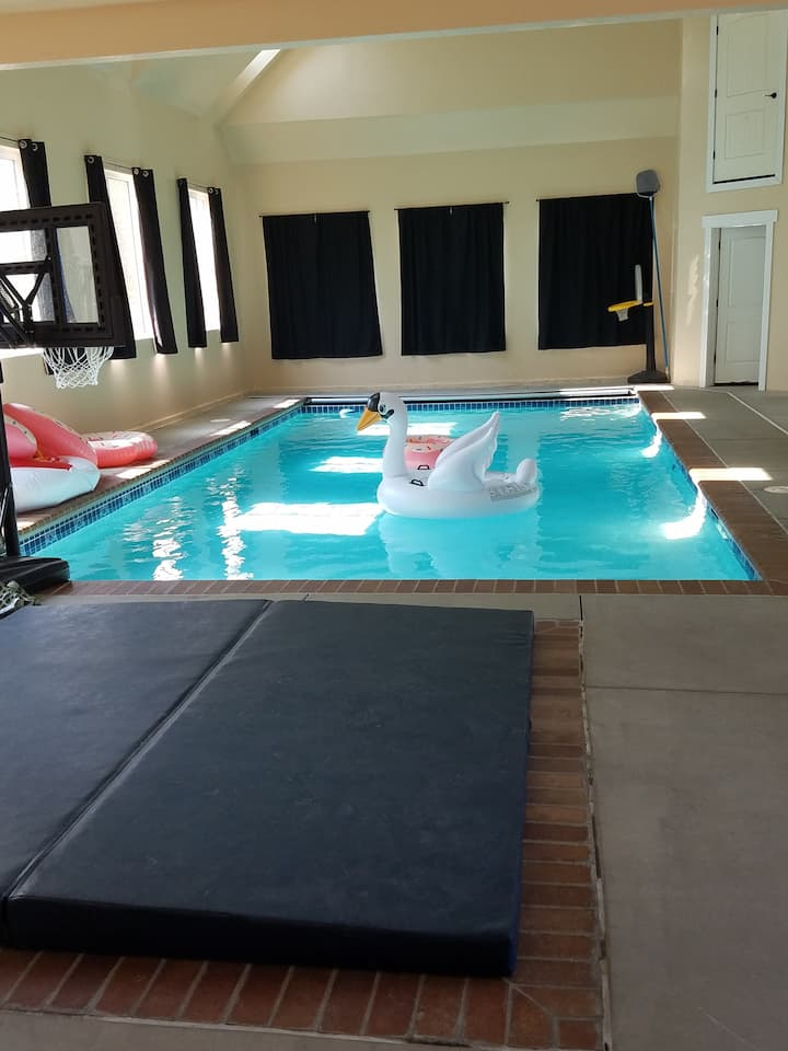 Private Provo Indoor Pool House