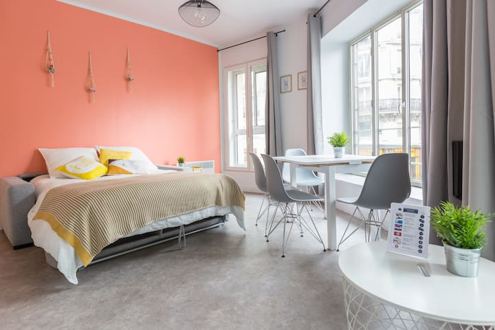 Hôtel de Ville - Marais 3: cosy apartment for 4
