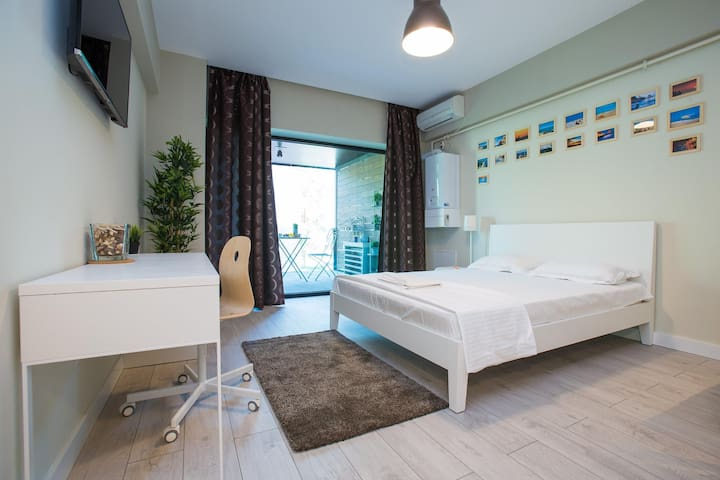 Chic Studio Blue Bike Mamaia - Mamaia - Departamento