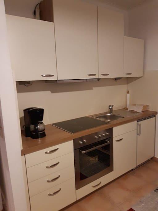 Küche inkl. Ausstattung