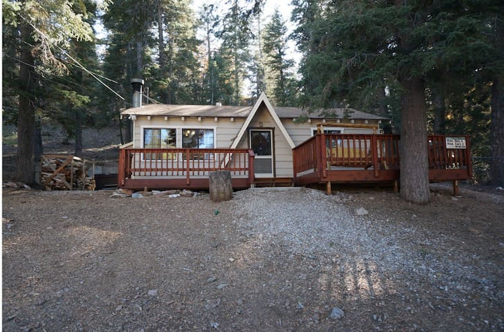 Surrounded by Forest! Hot Tub & Foosball! - Big Bear Lake