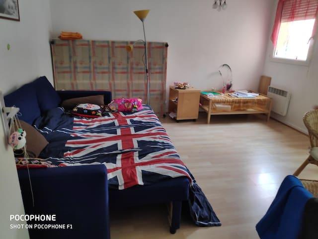Jolie appartement dans résidence tranquille