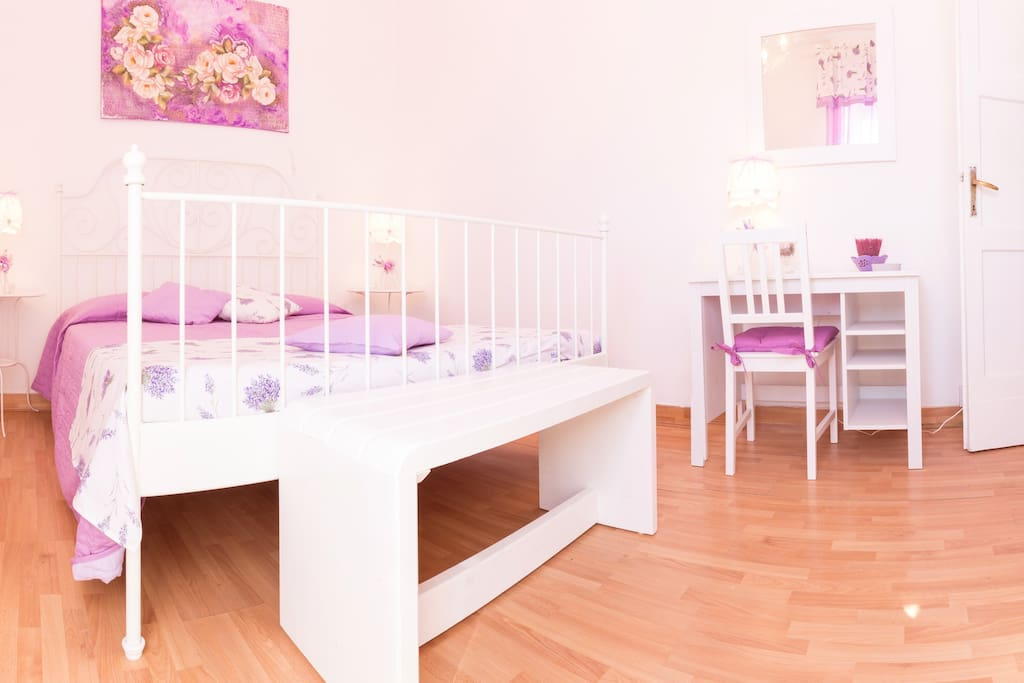 Two beautifully decorated bedrooms with air conditioning