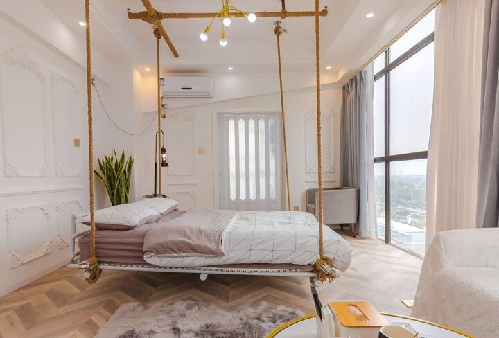 【悦来悦漫•初见】北星大道边吊床房,近国际商贸城、海宁皮革城