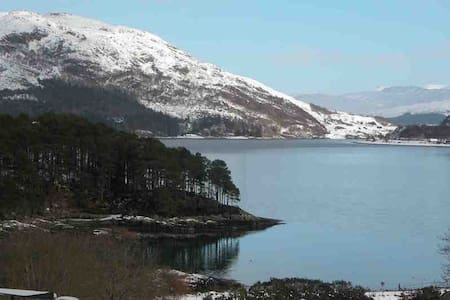 Small lodge at Craig Highland Farm (Bridge Lodge) - Plockton
