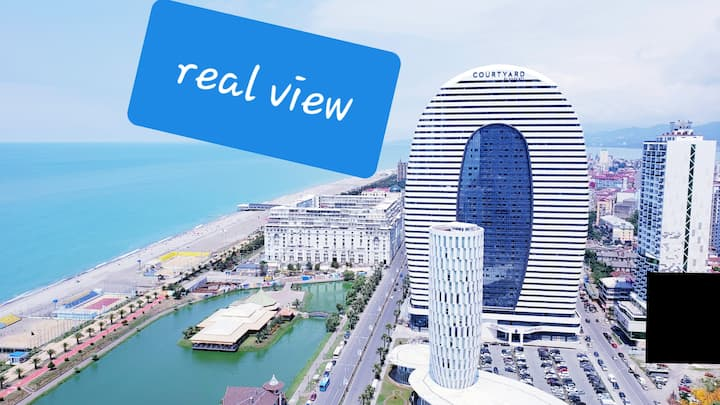 ORBI CITY 34 FLOOR SEAVIEW DELUXE  FULL FURNISHED