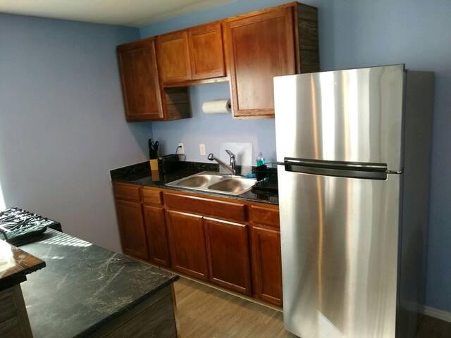 Efficient Kitchen with new appliances