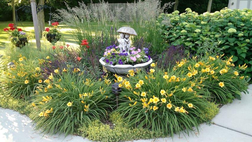 Gardens in June