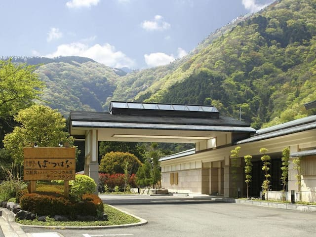 HAKONE High quality inn Japanese style + Onsen【From 2 pax】【With meal】【和座敷ツイン】