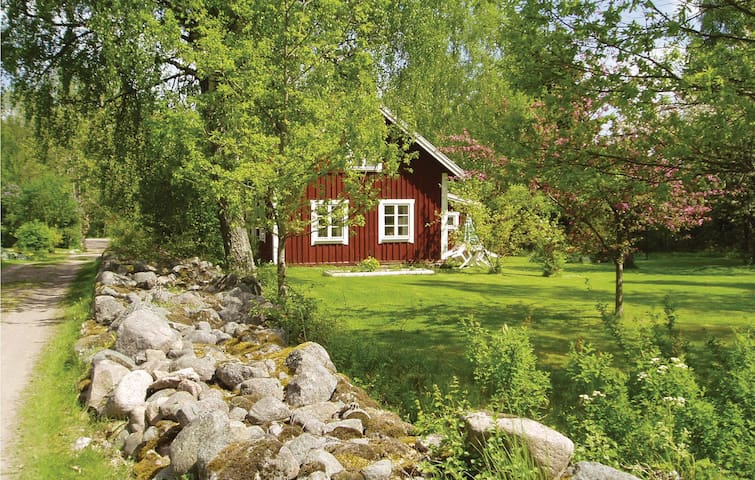 Holiday cottage with 1 bedroom on 56 m² in Vimmerby