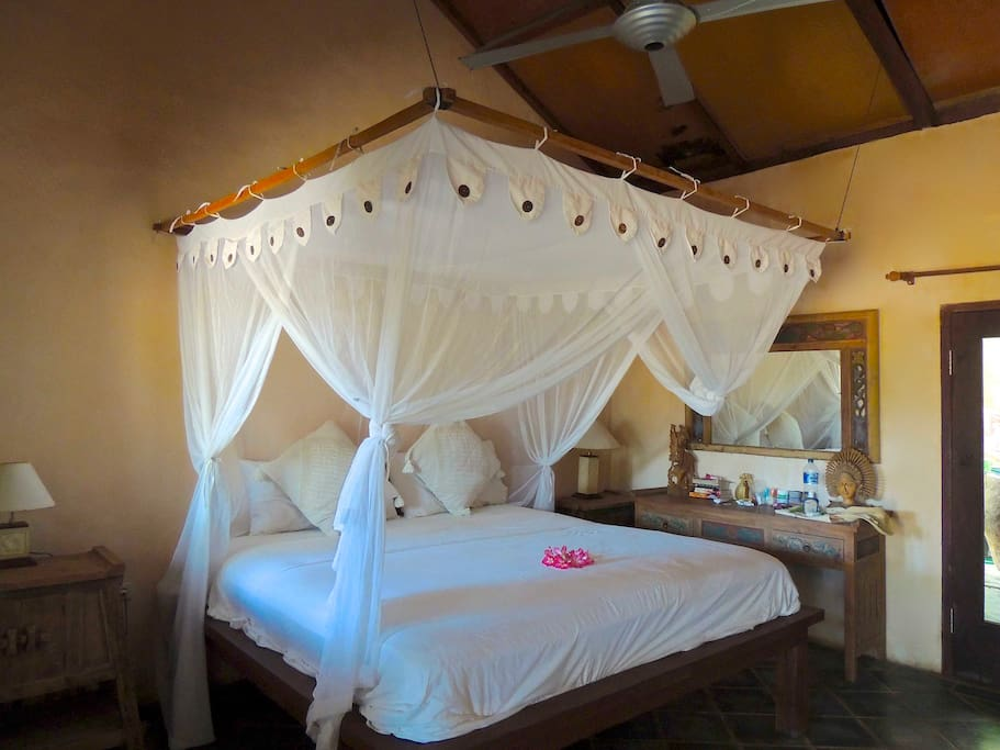 Room # 3 - King size Bed with canopy mosquito net